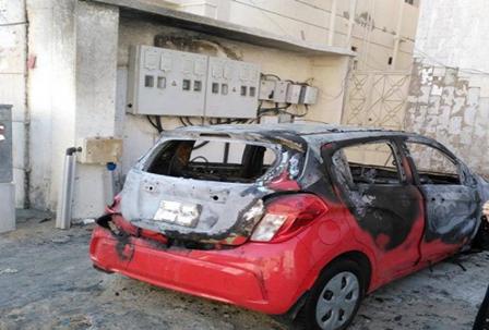 فيديو.. تفاصيل جديدة بحادثة احتراق سيارة مواطنة في #جدة