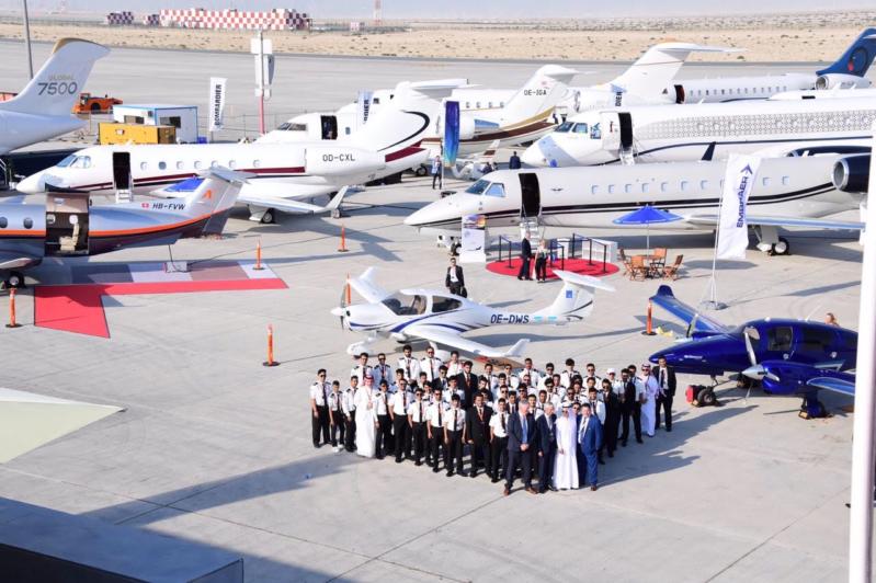 أكسفورد للطيران بالدمام توقع أكبر اتفاقية شراء طائرات دايموند بالشرق الأوسط