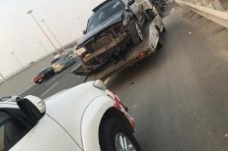 إصابة 7 أشخاص في تصادم مروع على طريق المطار بجدة - المواطن