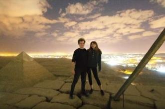 فيديو جنسي فوق قمة هرم خوفو .. والآثار المصرية: فوتوشوب - المواطن