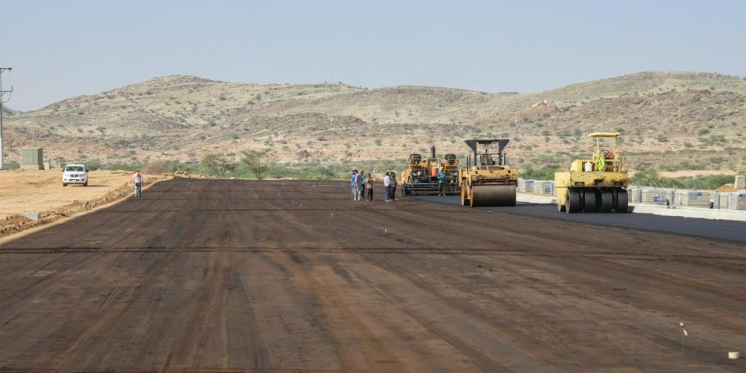 صور.. بلدية #بارق تبدأ تنفيذ ممشى القرية التراثية
