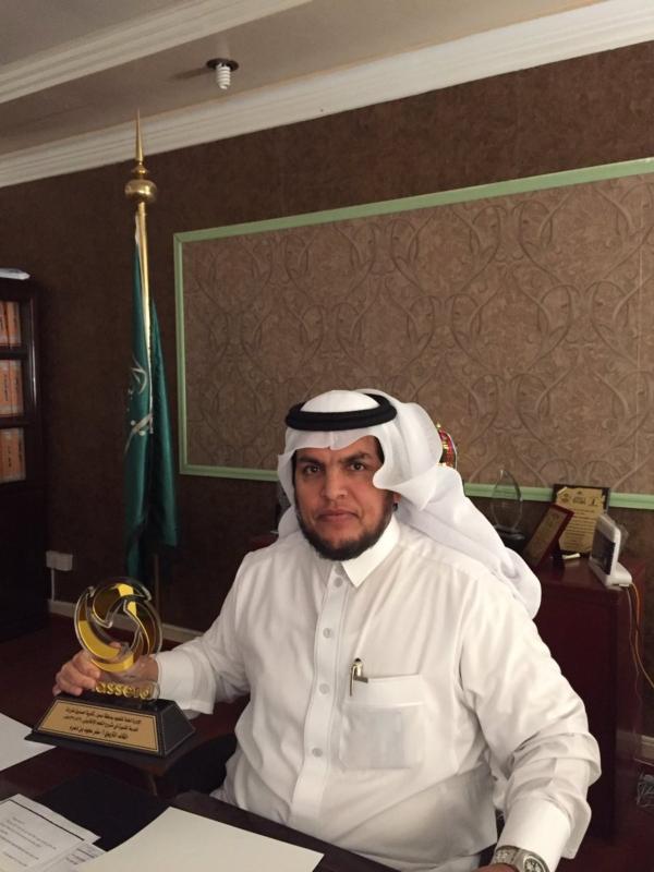 سفر آل دعرم مديراً لمكتب التعليم بوادي بن هشبل