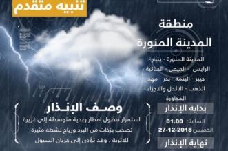 مدني المدينة المنورة: احذروا طقس الإجازة - المواطن