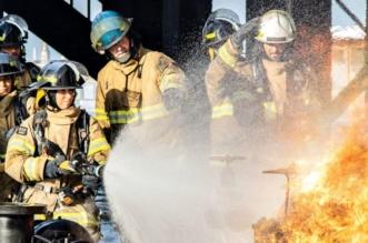 جازية وعبير في قلب المخاطر.. أول سعوديتين تعملان في إطفاء الحرائق - المواطن