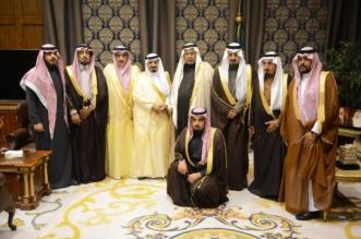 صور.. أمير #عسير يستقبل أسرة الشيخ آل فردان - المواطن