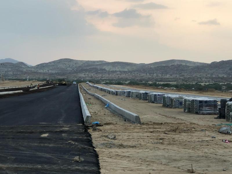 صور.. بلدية #بارق تبدأ تنفيذ ممشى القرية التراثية - المواطن