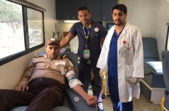 مستشفى الخميس ينظم حملة للتبرع بالدم لمنسوبي STC - المواطن