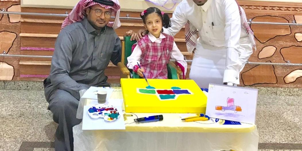 صور.. ورشة تدريبية لأطفال جمعية المعوقين في يوم الإعاقة