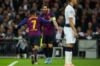 برشلونة ضد توتنهام