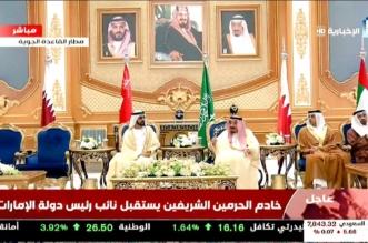 الملك سلمان يستقبل نائب رئيس الإمارات الشيخ محمد بن راشد - المواطن