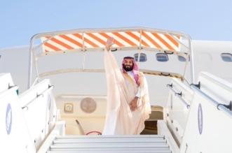 ولي العهد يغادر موريتانيا والرئيس ولد عبدالعزيز في مقدمة مودعيه - المواطن