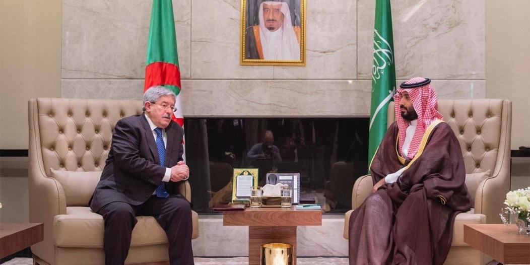ولي العهد يبحث مع الوزير الجزائري الأول سبل تعزيز التعاون المشترك