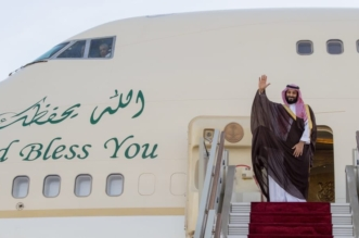 ولي العهد يغادر الجزائر والوزير الأول في مقدمة مودعيه - المواطن