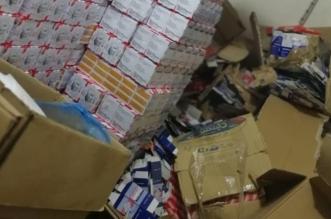صور.. ضبط 29 ألف قطعة غیار مغشوشة و9 آلاف علبة حبر في #الرياض - المواطن