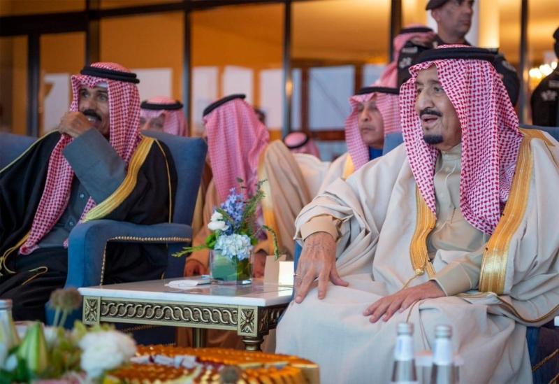 صور من رعاية الملك سلمان حفل افتتاح مهرجان الجنادرية 33 - المواطن