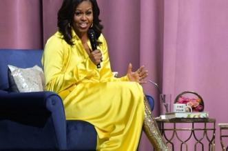صور.. حذاء ميشيل أوباما الذهبي يثير الجدل - المواطن