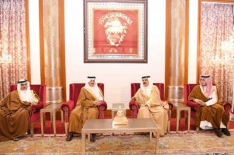 أمير الشرقية ينقل تعازي القيادة لملك البحرين في وفاة الشيخة نورة آل خليفة - المواطن