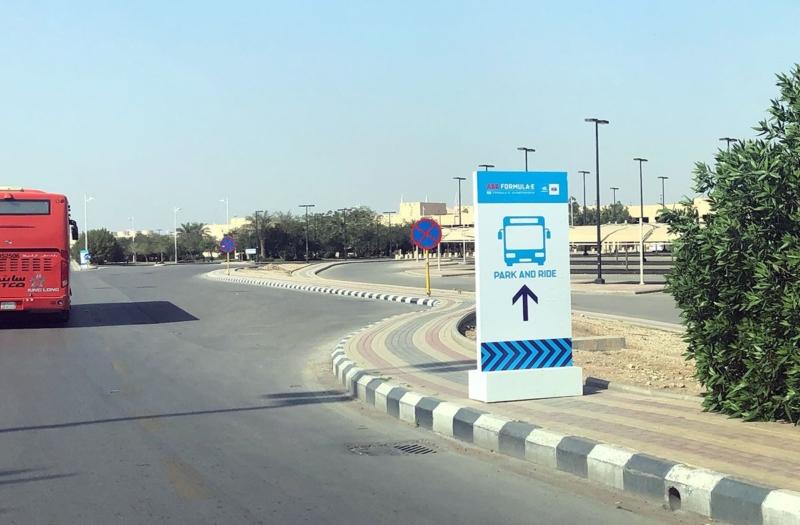 صور.. طريقة الوصول إلى حافلات النقل الترددي من وإلى الدرعية - المواطن