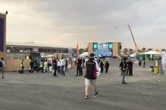 فيديو وصور.. تحضيرات اليوم الثاني من #فعاليات_فورمولا_إي_الدرعية - المواطن