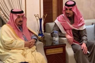 أمير الرياض يعزي في وفاة سلمان المنديل - المواطن