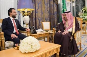الملك سلمان يستعرض آفاق التعاون مع رئيس مجلس النواب العراقي - المواطن