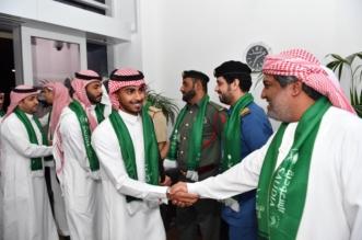 الأخضر يصل دبي - المواطن