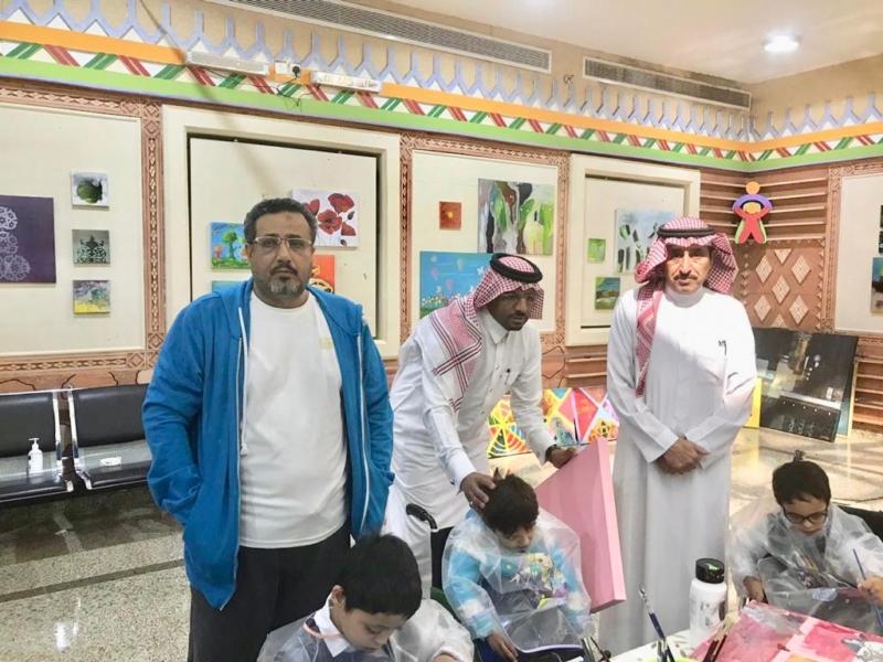 صور.. ورشة تدريبية لأطفال جمعية المعوقين في يوم الإعاقة - المواطن