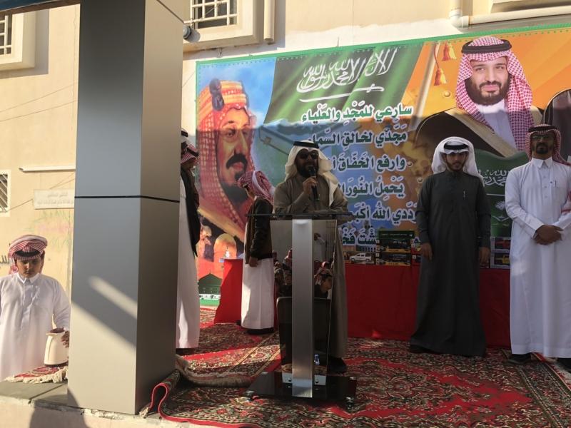 صور .. آل سويد يفتتح ملعب مدرسة عبدالله بن زيد ويرعى حفلها الختامي - المواطن