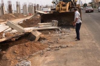 صور.. أمانة #جدة تلزم شركات بإصلاح طريق أتلفته آلياتها - المواطن