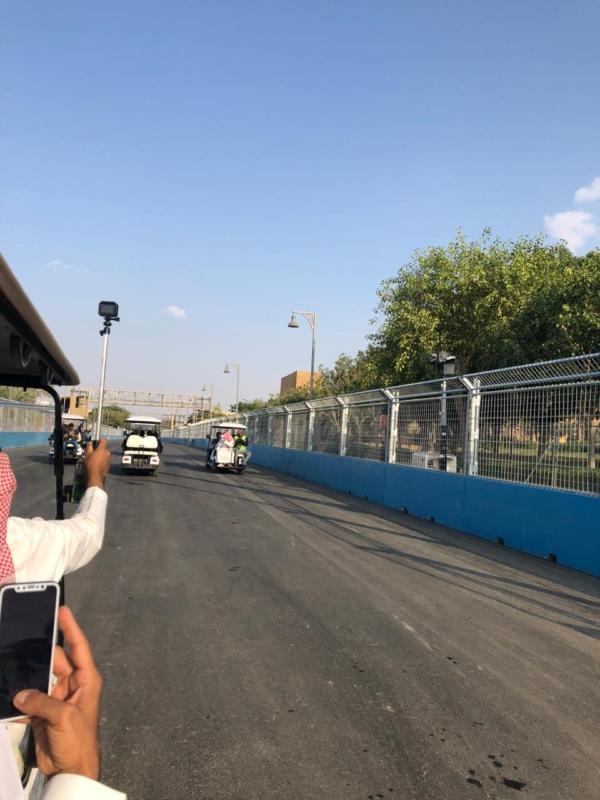 فيديو وصور.. شاهد استعدادات هيئة الرياضة لاستضافة سباق الفورمولا إي - المواطن