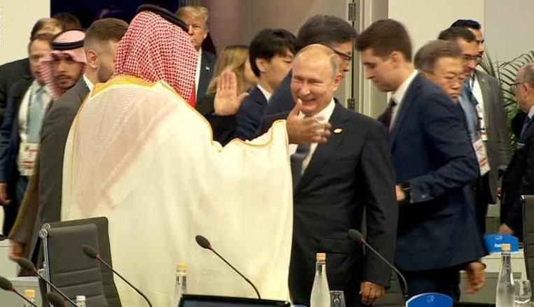 الكرملين يعلق على مصافحة بوتين وولي العهد في قمة العشرين