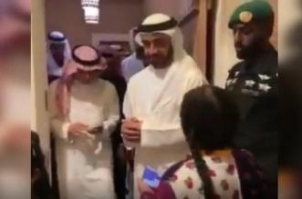فيديو.. الجبير يصطحب عبدالله بن زايد بجولة في الدرعية - المواطن