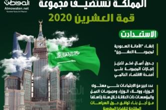 """إنفوجرافيك """"المواطن"""".. هكذا استعدت المملكة لاستضافة قمة العشرين - المواطن"""