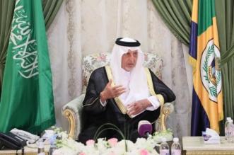 خالد الفيصل يلتقي عددًا من كتاب ومثقفي القنفذة - المواطن