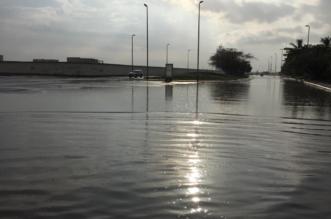 بسبب أمطار #جدة .. إغلاق نفق طريق الأمير ماجد مع شارع فلسطين - المواطن
