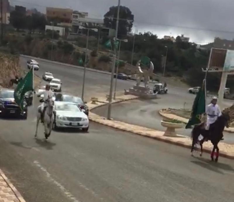 صور.. أمير الباحة في زيارة تفقدية لمحافظة بني حسن - المواطن