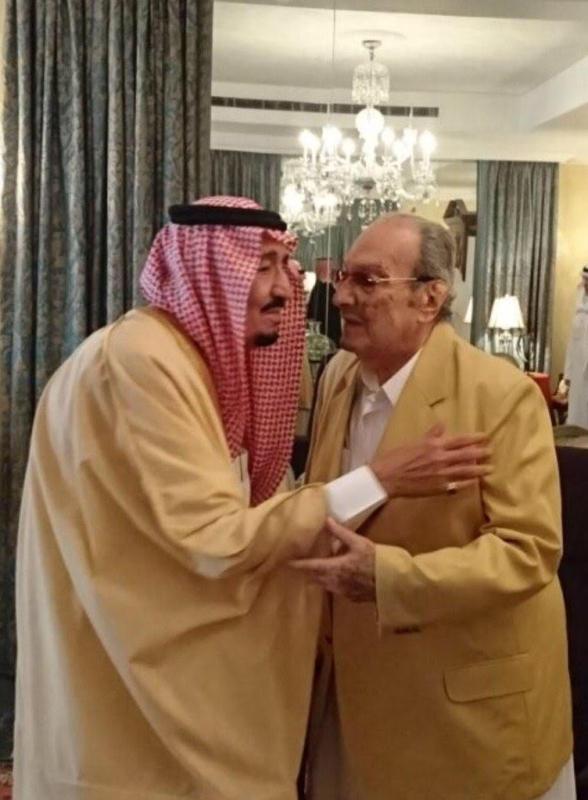 صور تحكي اهتمام الملك سلمان بأخيه الأمير طلال بن عبدالعزيز