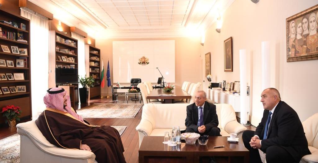 رئيس وزراء بلغاريا يستقبل الأمير تركي بن محمد ويبحث معه تعزيز العلاقات الثنائية