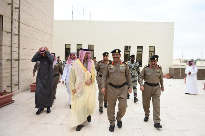 شاهد الصور.. الأمن العام يحتفي بـ الحربي ويودع القحطاني - المواطن
