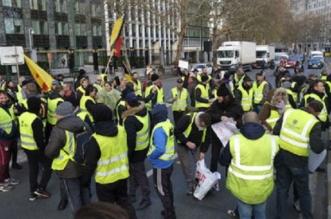 صور.. احتجاجات فرنسا توقف الملاحة بمطار نانت واعتقال 107 متظاهرين - المواطن