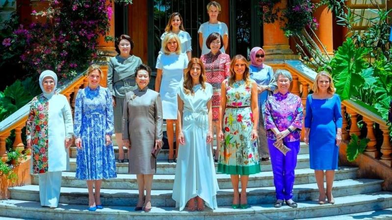 فيديو وصور.. لقاء يجمع زوجات القادة على هامش قمة العشرين