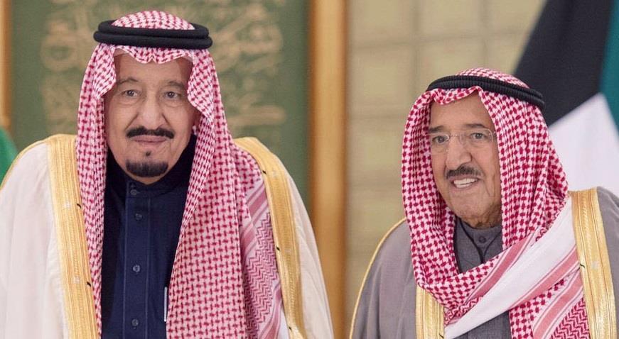 أمير الكويت يهنئ الملك سلمان بالذكرى الرابعة لتوليه مقاليد الحكم