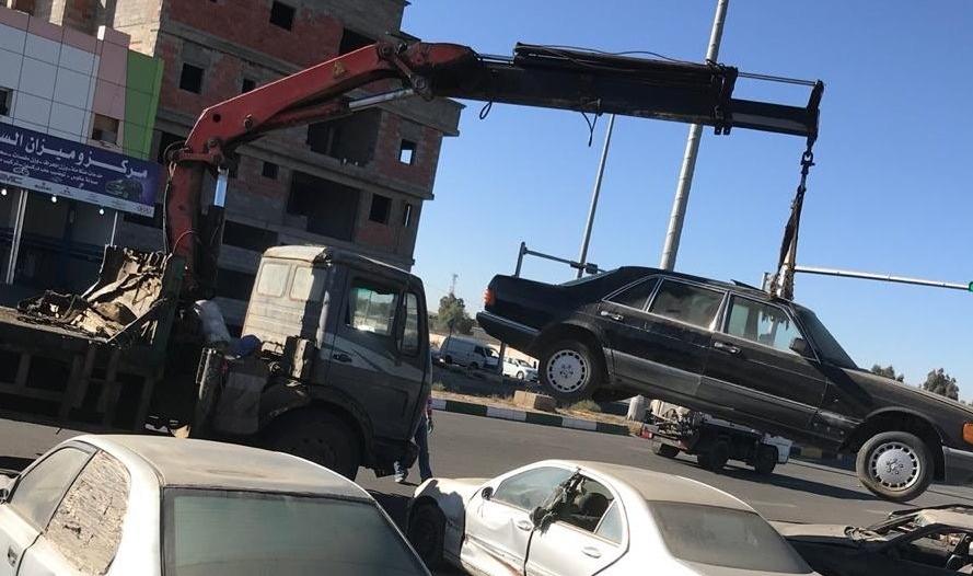 """تجاوباً مع """"المواطن"""".. بلدية أحد رفيدة تزيل المركبات المتكدسة بشوارع الصناعية"""