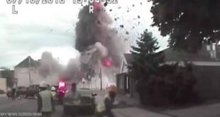 فيديو.. انفجار هائل يهز مدينة أميركية.. لحظات من الرعب