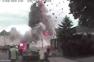 فيديو.. انفجار هائل يهز مدينة أميركية.. لحظات من الرعب - المواطن