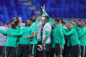 الاخضر قبل مباراة السعودية ولبنان
