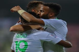 الاخضر قبل مباراة السعودية ولبنان 4