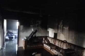 التماس كهربائي بالمكيف يحرق شقة في رابغ - المواطن