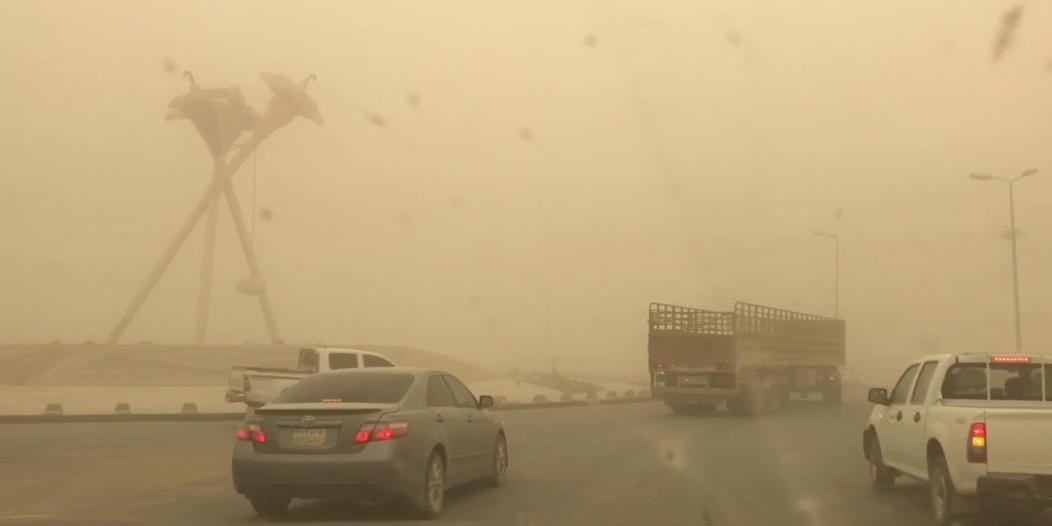 طقس اليوم غير مستقر وغبار على 6 مناطق