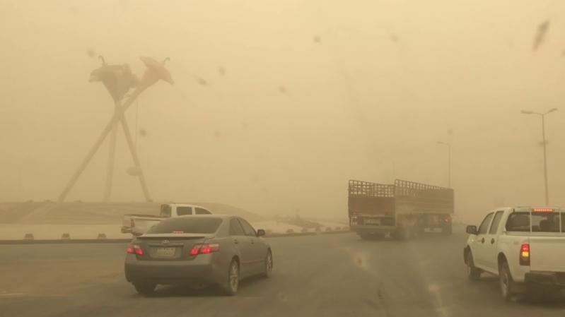 موجة غبار تداهم الجوف قادمة من الأردن غدًا
